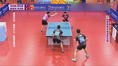 東奧模擬賽桌球登場 林昀儒 鄭怡靜混雙戰男雙