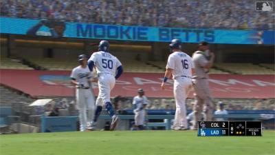 MLB/遊騎兵拚連勝 對決聯盟最佳球隊洛杉磯道奇