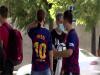 巴塞隆納新球季首次練球 梅西缺席 球迷守候失望
