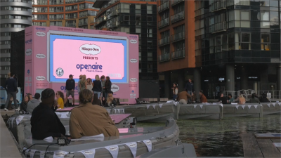 划船結合電影 英國泰晤士河防疫新休閒
