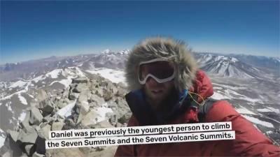 六千公尺高山湖泊游冰泳 澳洲冒險家寫紀錄
