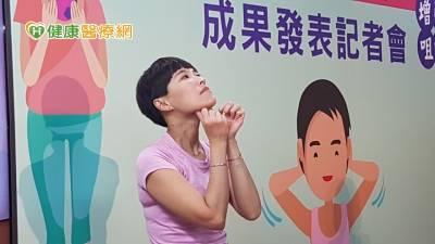 防老化失能!牙醫師公會推益口銅身操 增強咀嚼吞嚥力