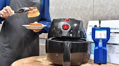 密閉空間無抽油煙機使用氣炸鍋 油煙濃度同油鍋煎香腸