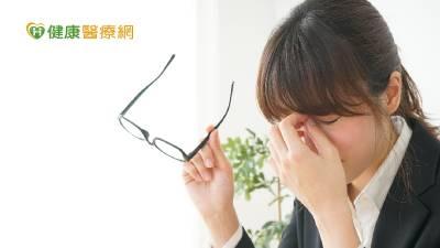 乾眼症不要拖 眼科醫師提警訊