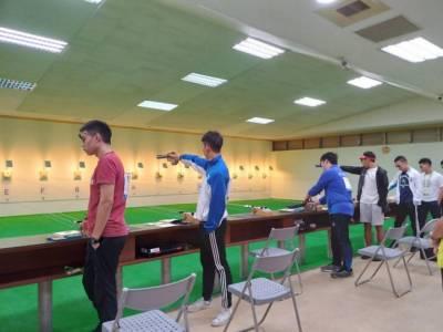 109全大運【射擊】首日男女10公尺空氣手槍 神槍手黃維德破大會紀錄