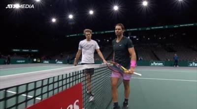 巴黎網球大師賽四強 納達爾輸澤瑞夫遭淘汰
