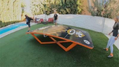 巴西滑板女神 後院改造成極限公園