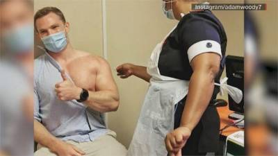 全球官員名人帶頭打疫苗 結實身材吸睛引發熱議