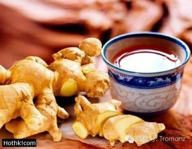 一碗神奇的姜蜜水,能讓老年斑全飛!