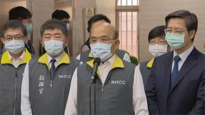 快新聞/「華航染疫案」防疫旅館成擴散溫床 蘇貞昌:別因台灣安全就不打疫苗