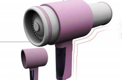 吹風機保健的10大妙用,驚人的功效!