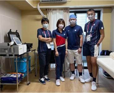 影/美女醫開箱「台奧運隊醫務室」 一根針神救援射箭女將