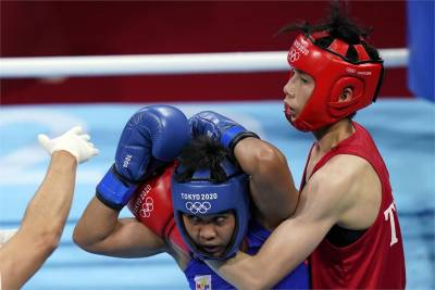 東奧/林郁婷拳擊不敵菲律賓女將 16強止步