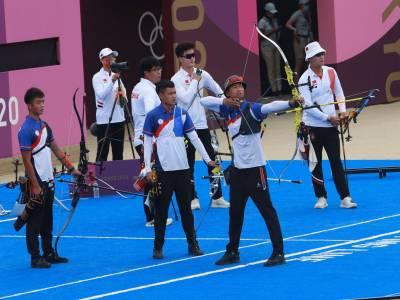 東奧/金牌戰不敵韓國中華射箭男團摘銀
