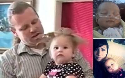 可愛的寶寶在「雷擊」中存活了下來...卻對她造成意外的影響!