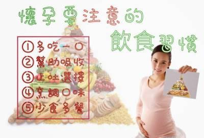 懷孕期間,食物絕對不能亂吃